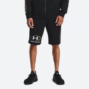 מכנס ספורט אנדר ארמור לגברים Under Armour Rival Lockertag - שחור
