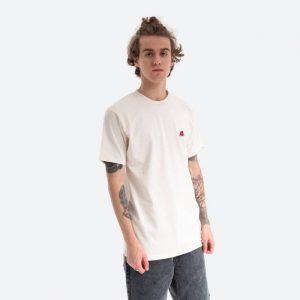 חולצת T ואנס לגברים Vans Anaheim Needlepoi Natural - לבן