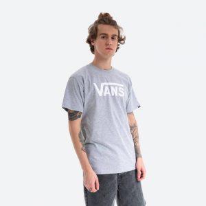 חולצת T ואנס לגברים Vans Classic Athletic - אפור בהיר
