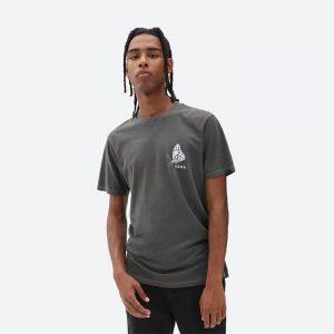 חולצת T ואנס לגברים Vans In The Air - אפור כהה