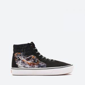 נעלי סניקרס ואנס לגברים Vans UA Comfycush SK8-Hi Misc - שחור