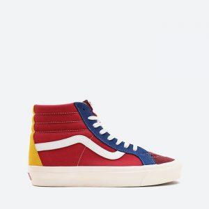 נעלי סניקרס ואנס לגברים Vans Ua Sk8-Hi 38 DX - צבעוני בהיר
