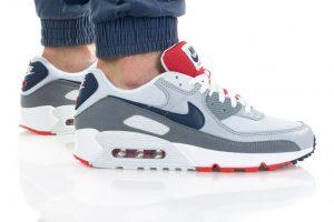 נעלי סניקרס נייק לגברים Nike AIR MAX 90 - צבעוני בהיר