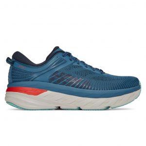 נעלי ריצה הוקה לגברים Hoka One One Bondi 7 - כחול