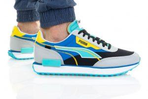 נעלי סניקרס פומה לגברים PUMA FUTURE RIDER TWOFOLD - צבעוני בהיר