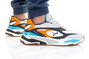 נעלי סניקרס פומה לגברים PUMA RS-FEAST BUCK - צבעוני בהיר