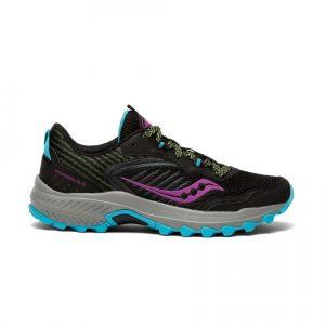 נעלי ריצה סאקוני לנשים Saucony EXCURSION TR15 - צבעוני כהה