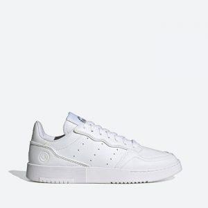 נעלי סניקרס אדידס לגברים Adidas Supercourt Vegan - לבן