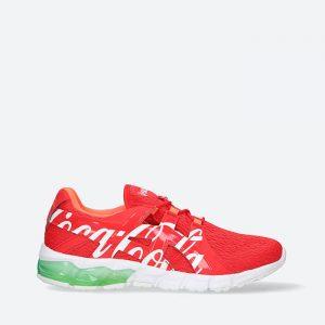 נעלי ריצה אסיקס לגברים Asics x Coca-Cola Gel-Quantm 90 - אדום