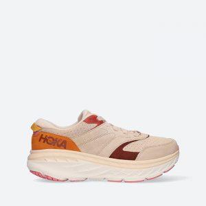 נעלי ריצה הוקה לגברים Hoka One One Bondi L Suede - צבעוני בהיר
