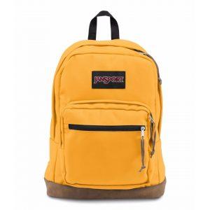 תיק גנספורט לגברים JANSPORT Right Pack - צהוב