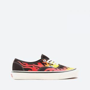 נעלי סניקרס ואנס לגברים Vans Authentic 44 Dx - שחור