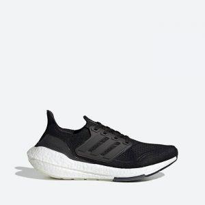 נעלי ריצה אדידס לנשים Adidas Ultraboost 21 - שחור/לבן