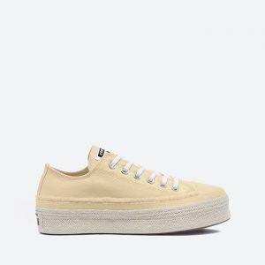 נעלי סניקרס קונברס לנשים Converse Chuck Taylor As Espadrille - צהוב