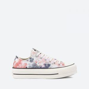 נעלי סניקרס קונברס לנשים Converse Chuck Taylor All Star Lift Archive Print - צבעוני