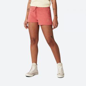 מכנס ספורט קונברס לנשים Converse Embroid - ורוד