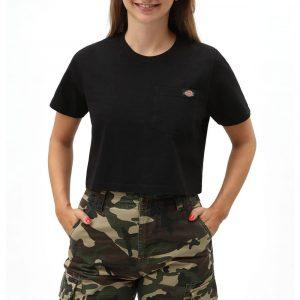חולצת T Dickies לנשים Dickies Ellenwood - שחור