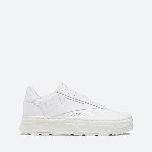 נעלי סניקרס ריבוק לנשים Reebok Club C Double GEO - לבן