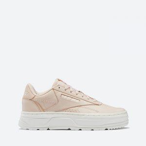 נעלי סניקרס ריבוק לנשים Reebok Club C Double GEO - אפרסק