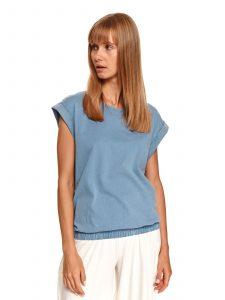 חולצת T טופ סיקרט לנשים TOP SECRET BLU - כחול