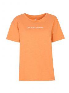 חולצת T טופ סיקרט לנשים TOP SECRET Step - כתום