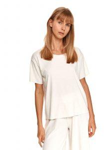 חולצת T טופ סיקרט לנשים TOP SECRET WHT - לבן