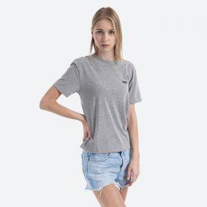 חולצת T ואנס לנשים Vans Boxy Cement - אפור
