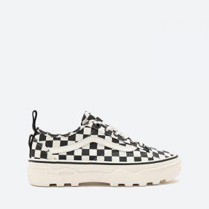 נעלי סניקרס ואנס לנשים Vans OLD SKOOL - לבן
