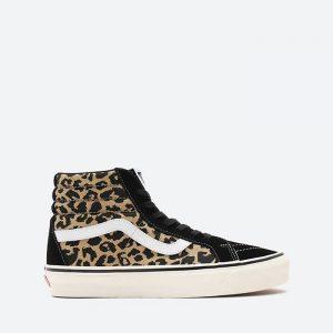 נעלי סניקרס ואנס לנשים Vans UA Sk8-Hi Dx - מנומר