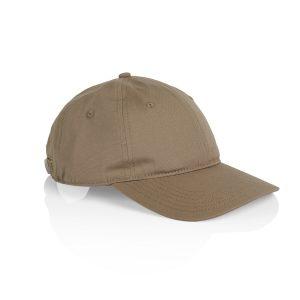 כובע אס קולור לגברים As Colour DAVIE SIX PANEL - חום