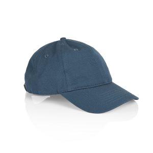 כובע אס קולור לגברים As Colour DAVIE SIX PANEL - כחול