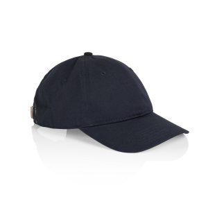 כובע אס קולור לגברים As Colour DAVIE SIX PANEL - כחול כהה