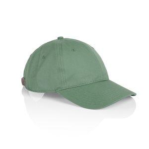 כובע אס קולור לגברים As Colour DAVIE SIX PANEL - ירוק