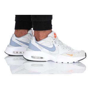 נעלי סניקרס נייק לגברים Nike Air Max Fusion - צבעוני/לבן