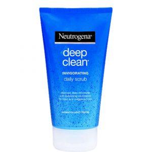 מוצרי טיפוח ניוטרוג'ינה לנשים Neutrogena DEEP CLEAN 150ml - כחול