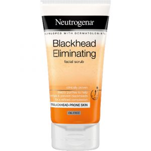 מוצרי טיפוח ניוטרוג'ינה לנשים Neutrogena BLACKHEAD ELIMINATING 150ml - לבן