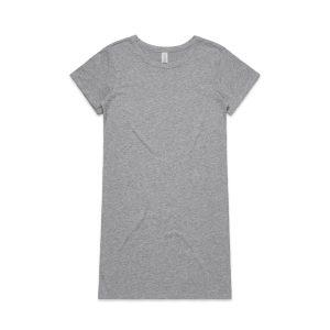 שמלה קצרה אס קולור לנשים As Colour MIKA ORGANIC - אפור