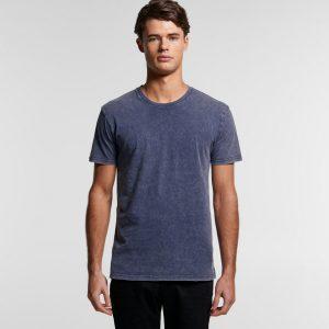 חולצת T אס קולור לגברים As Colour STONE WASH STAPLE - סגול בהיר