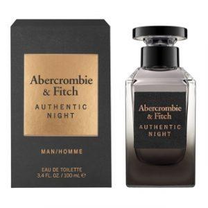 בושם אברקרומבי&פיץ' לגברים ABERCROMBIE & FITCH AUTHENTIC NIGHT 100ml - שחור