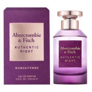 בושם אברקרומבי&פיץ' לנשים ABERCROMBIE & FITCH AUTHENTIC NIGHT 100ml - סגול