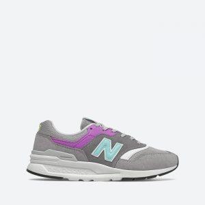 נעלי סניקרס ניו באלאנס לנשים New Balance CW997 - אפור/סגול