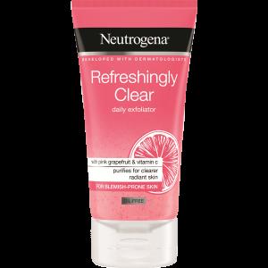 מוצרי טיפוח ניוטרוג'ינה לנשים Neutrogena Refreshingly 150ml - ורוד