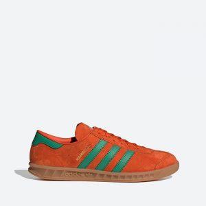 נעלי סניקרס אדידס לגברים Adidas Originals HAMBURG - כתום