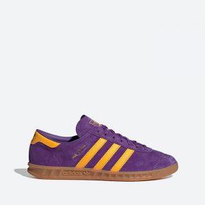 נעלי סניקרס אדידס לגברים Adidas Originals HAMBURG - סגול