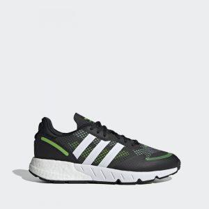 נעלי ריצה אדידס לגברים Adidas Originals Zx 1K Boost - שחור/ירוק