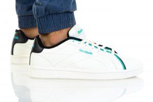 נעלי סניקרס ריבוק לגברים Reebok ROYAL COMPLETE CLN - טורקיז