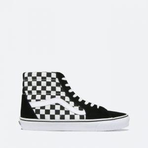 נעלי ריצה ואנס לגברים Vans UA Sk8-Hi - שחור/לבן