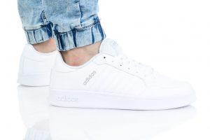 נעלי סניקרס אדידס לגברים Adidas Breaknet - לבן מלא