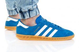 נעלי סניקרס אדידס לגברים Adidas Originals HAMBURG - כחול