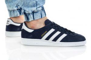 נעלי סניקרס אדידס לגברים Adidas Originals Munchen - כחול כהה